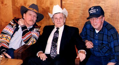 Raymond Fairchild, Ralph Stanley and Jimmy Cox.