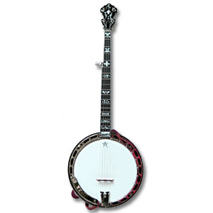 The Cox Wolf Creek Banjo.